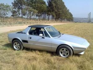 My Silver Fiat X19