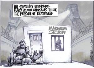 Security Zuma really needs
