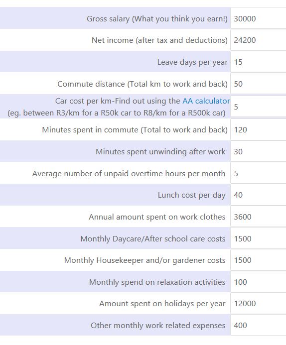 Mike's work related time and expenses