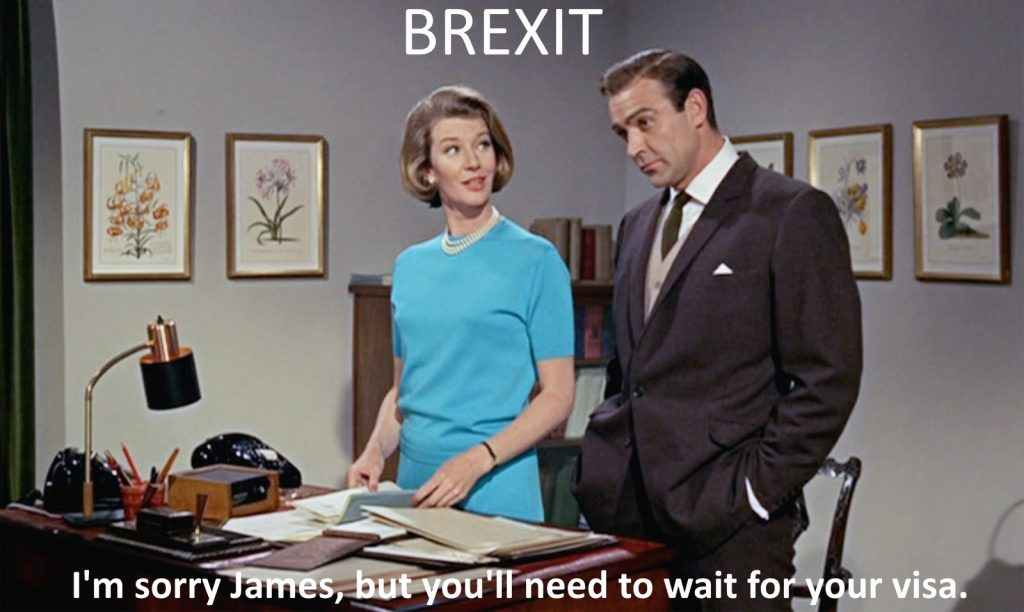 James Bond post brexit