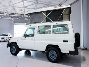 Landcruiser campervan