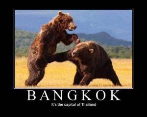 Bangkok is Thailand's capital
